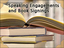 "Speaking Engagements and Book Signings for the book, ""Our Southern Breeze"""